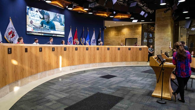 The new-look districts for the Austin City Council will go into effect with the city's general election in November 2022.