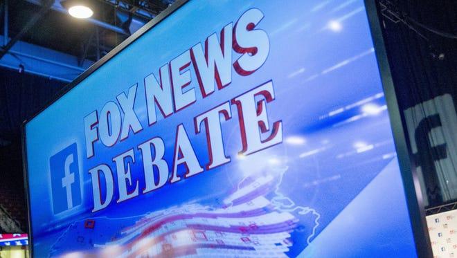 Republican presidential debate in Cleveland.