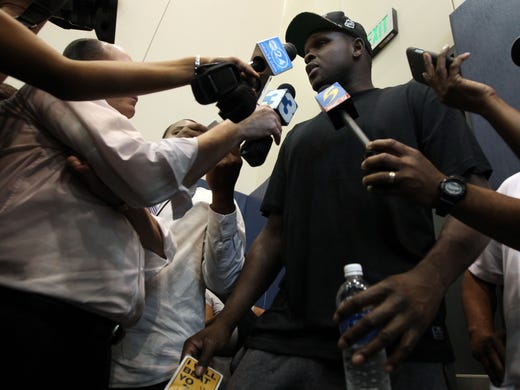 May 28, 2013 -    Memphis Grizzlies forward Zach Randolph