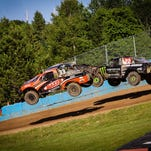 CJ Greaves, left, and Johnny Greaves are the top two racers in their division in The Off Road Championships Series. The final races of the season are this weekend in Crandon.