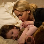 "Jennifer Lawrence is a single mom and Aundrea Gadsby plays her daughter in ""Joy."""