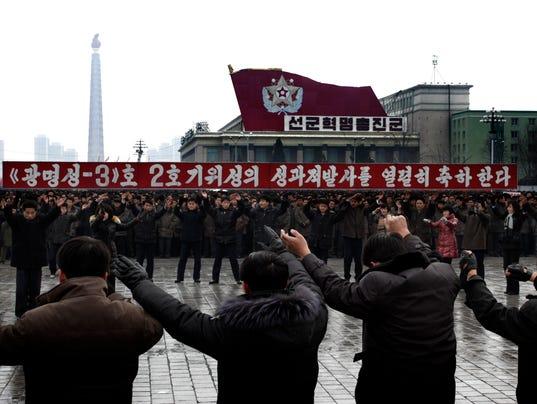 AP NORTH KOREA ROCKET LAUNCH I PRK