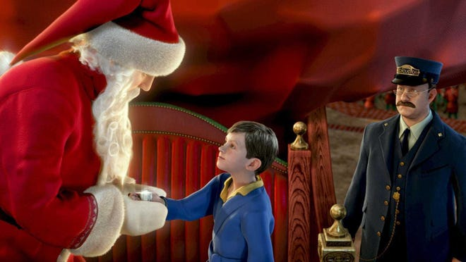 """""""The Polar Express"""" runs for the first time this season on at 7:30 p.m., Dec. 1 on AMC and repeats several times before Christmas."""