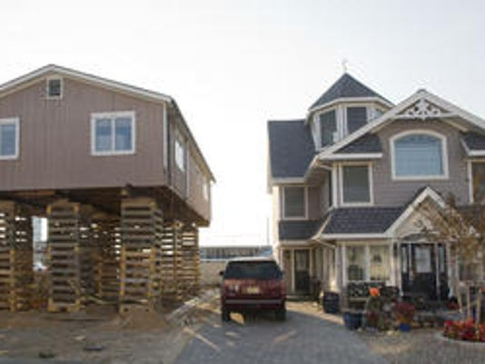 Rebuilding in Ortley Beach
