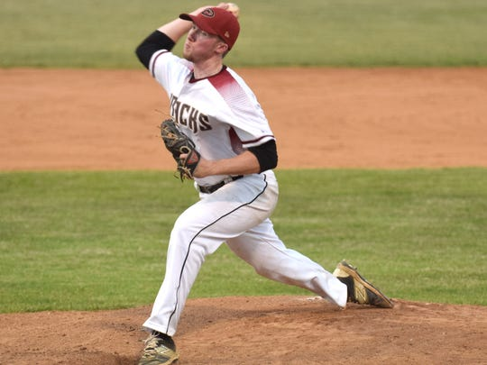 Stuarts Draft Diamondbacks Starting pitcher Tristan