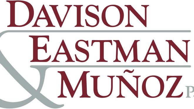 .The law firm of Davison Eastman & Munoz is continuing to build its expertise with two new hires. A will/estate planning event will be held on November 15 & 17 in their Toms River office.
