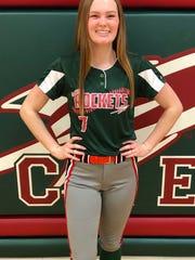 Oak Harbor senior Emily Lenke had 51 hits last season.