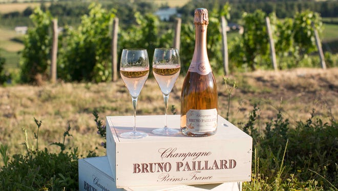 Ring in the New Year with Bruno Paillard Rose Champagne.