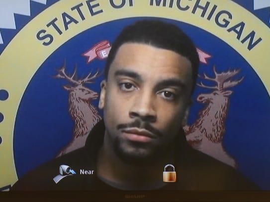 Detroit police officer Richard Billingslea is arraigned