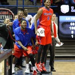 Louisiana Tech forward Erik McCree (2) scored 14 points and pulled down 12 rebounds vs. UTEP.