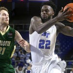 Photos: MTSU Men Defeat Charlotte 70-55