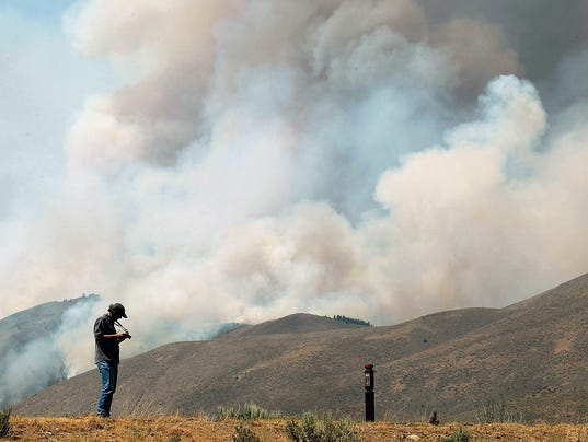 Beaver Creek Fire Idaho