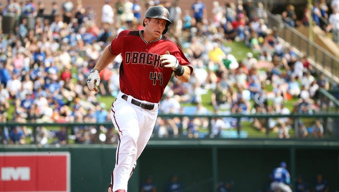 Arizona Diamondbacks first baseman Paul Goldschmidt is at the heart of a group of players around which the team has been constructed.