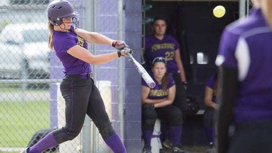 Fowlerville's Sarah Matlock, who was voted Athlete of the Week last week,  is batting over .600 in her junior season.