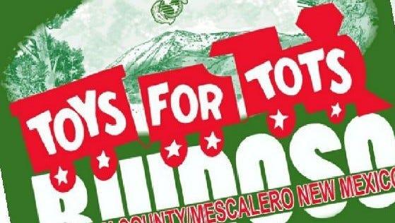 Toys for Tots benefits children in the Ruidoso area and Mescalero