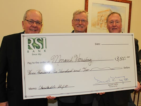 Cranford: RSI Bank partners with Monarch Housing Associates to fight homelessness PHOTO CAPTION