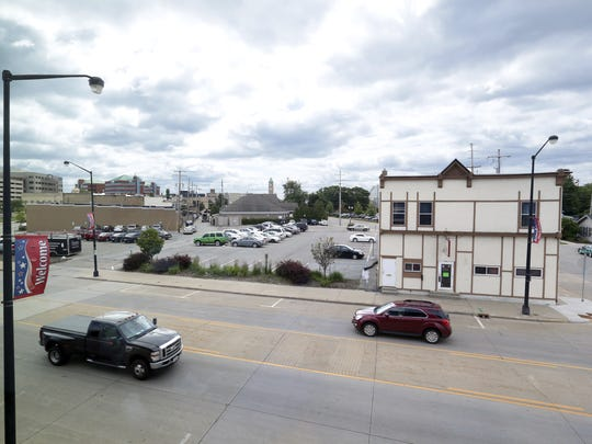 Under the Dome Sports Bar & Grill (right) will be demolished to make room for the Gateway office tower.