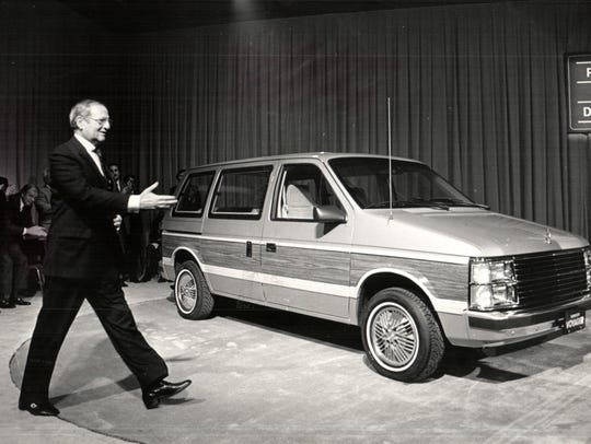 In Nov., 1983, Lee A. Iacocca, then chairman of Chrysler