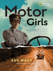 """""""Motor Girls"""" by Sue Macy, foreword by Danica Patrick"""