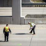 Rock thrown from I-75 overpass kills Michigan man in car
