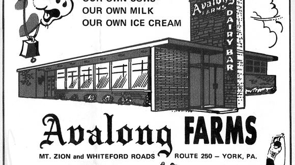 """These advertisements from former York restaurants Avalong Farms, 7 Cousins and the Sword & Shield at the York Valley Inn, were from a 1971 edition of """"This Month"""" magazine and were submitted by Regina (Tufarolo) Altland."""