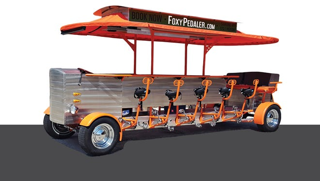 The Fox Pedaler is now officially a fleet. The quadricycle company in downtown Green Bay has added a second bike to meet demand.