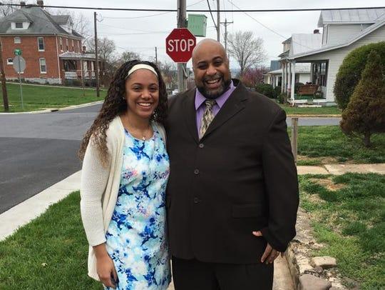 Devon Byrd and her dad, W.C. Byrd.