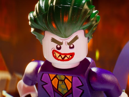 The Joker (voiced by Zach Galifianakis) in 'The Lego