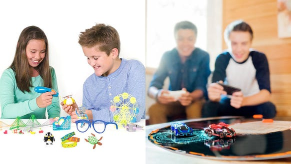 STEM toys and smart racing games are just a few of