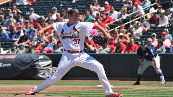 Estero graduate Matt Pearce was recently named pitcher of the month for both the St. Louis Cardinals organization and the Double-A Texas League. Pearce is 5-3 with a 2.19 earned run average this season.