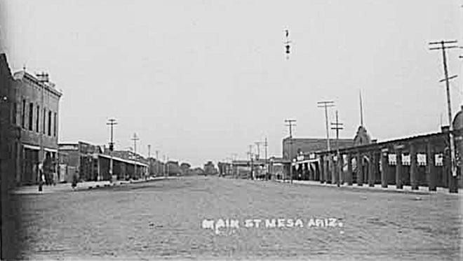 By order of the mayor, Mesa became a virtual ghost town for a couple of days in 1907 as a diphtheria scare fell upon the town.