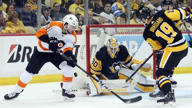 Penguins goalie Matt Murray saved all 24 shots he faced Wednesday.