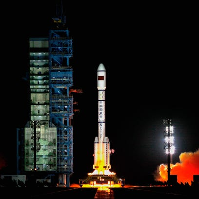 9.4-ton China space station hurling toward Earth could hit April Fool's Day