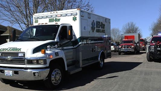 Med-Star is vying for the county's ambulance contract.