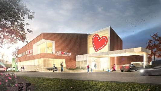 Le Bonheur is scheduled to break ground Sept. 20 on a new 30,000-square-foot facility in Jackson.