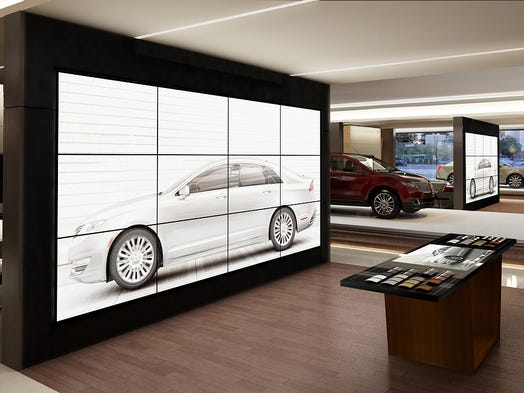 """In every Lincoln dealership throughout China, a """"Personalization Studio"""" will allow customers to visually explore the of models, colors and features, configure their vehicle, and view a life-size image of the vehicle both inside and out with family and friends before making a selection."""