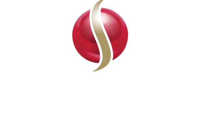 Scarlet Pearl Casino logo. The new casino is slated to open next month.