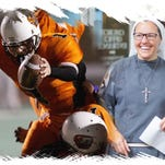 This ex-Detroit football player is vowing to become a nun