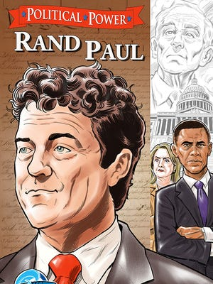 Sen. Rand Paul, R-Ky., is now featured in a comic book.