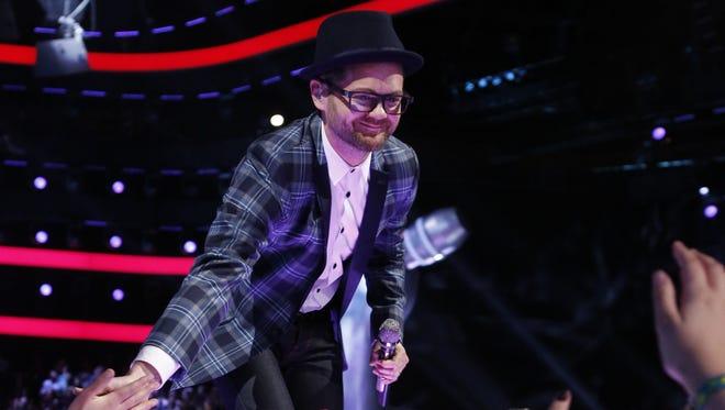 "Josh Kaufman cruises into the Top 5 of ""The Voice."""
