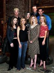 "TV-BUFFYRETURNS: The cast members of ""Buffy: The Vampire"