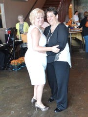 Knoxville couple Janie Fazenbaker, left, and Dawn Distler got married in Washington, D.C., in July.