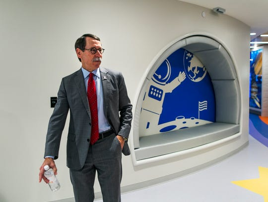 September 13, 2016 - CEO Dr. Jim Downing takes a tour