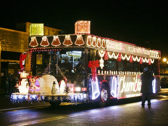 Holiday Lights Parade: Gather along the side of the