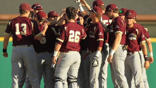 ULM split a doubleheader with Georgia Southern on Friday.
