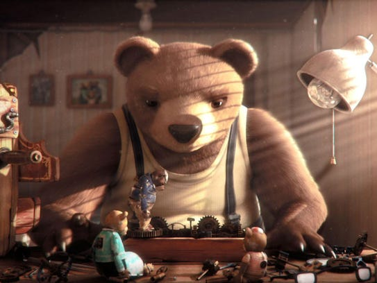 """Bear Story"" is a stop-action animated film about a"