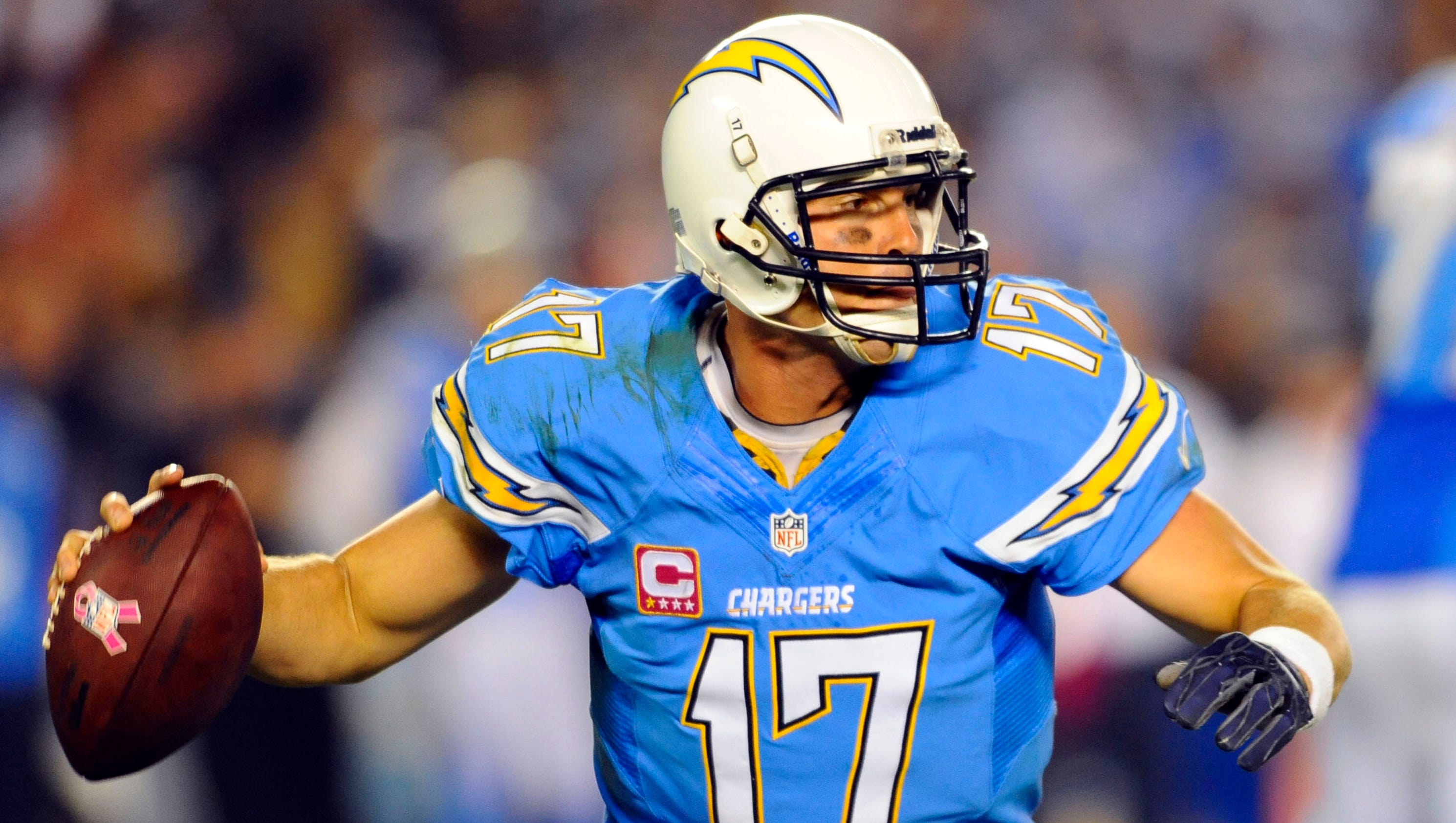 Chargers Logo Looks Better In Powder Blue And Gold