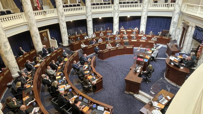Lawmakers in the Idaho House of Representative voted to shut down until April 6 after an outbreak of COVID-19.