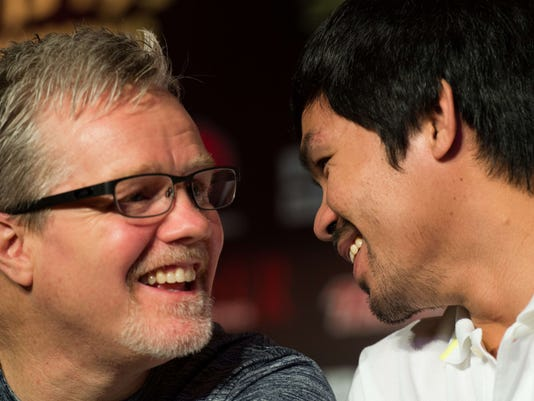 Roach and Pacquiao