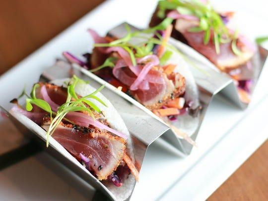 Ahi Tuna Tacos from Drexyl.